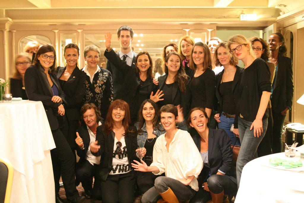 Au Lutétia en 2014, Tatiana F-Salomon, Natacha Quester-Séméon, Michèle Fitoussi, Caroline Deschamps, Laure de Laraudière, Catherine Barba…